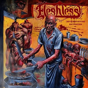 Fleshless- Devoured Beyond Recognition CD on Metal Age Prod.