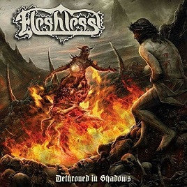 Fleshless- Dethroned In Shadows MCD on Nice To Eat You Rec.