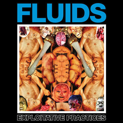 FLUIDS- Exploitative Practices CD on Sevared Records / Maggot Stomp