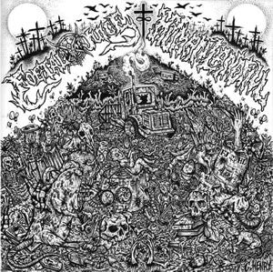 Foetal Juice / Human Landfill- Split CD on Grindscene Rec.