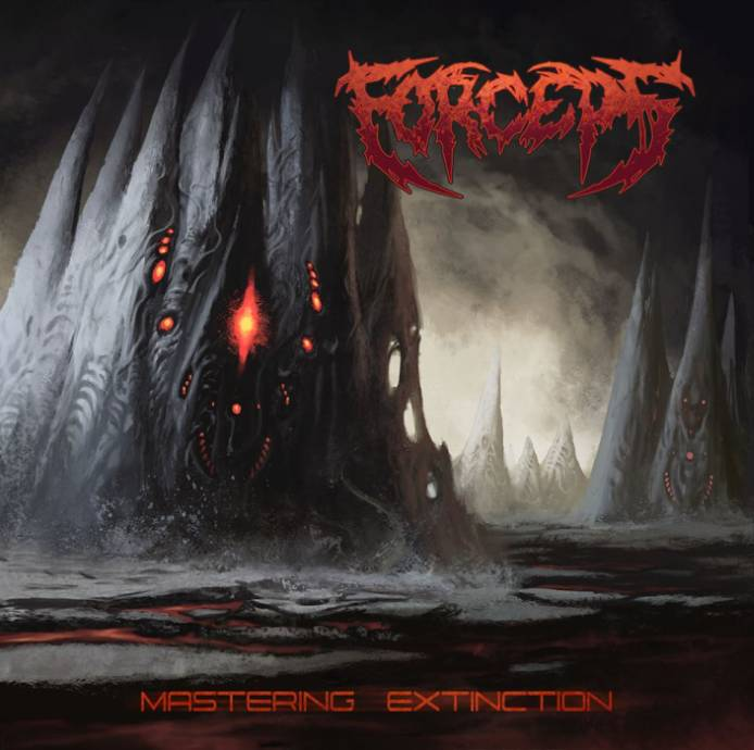 FORCEPS- Mastering Extinction CD on Sevared Rec. OUT NOW!!!