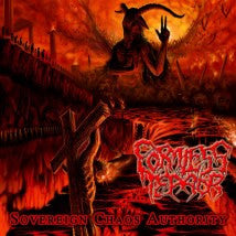 FORMLESS TERROR- Sovereign Chaos Authority CD on Sevared Rec.