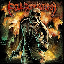 Foul Body Autopsy- Perpetuated By Greed CD on Grindscene Rec.