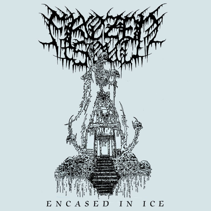 Frozen Soul- Encased In Ice DIGI-CD on Maggot Stomp