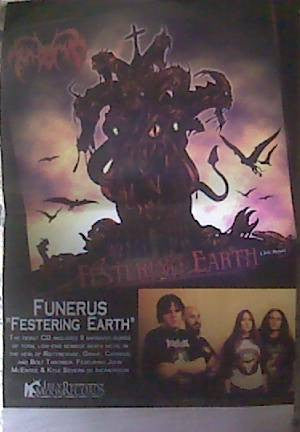 Funerus- Festering Earth POSTER
