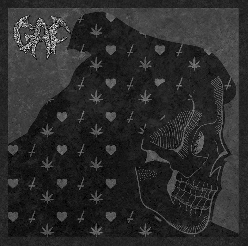 Gaf- Gore 'N' Feast CD on Splatter Zombie Rec.