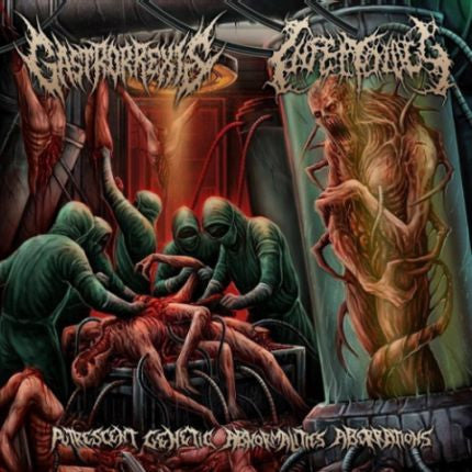 Gastrorrexis / Infectology- Putrescent Genetic Abnormalities Aberrations Split CD on Lord Of The Sick
