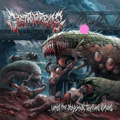 Gastrorrexis- Until The Abysmal Torture Ends CD on Brutal Mind