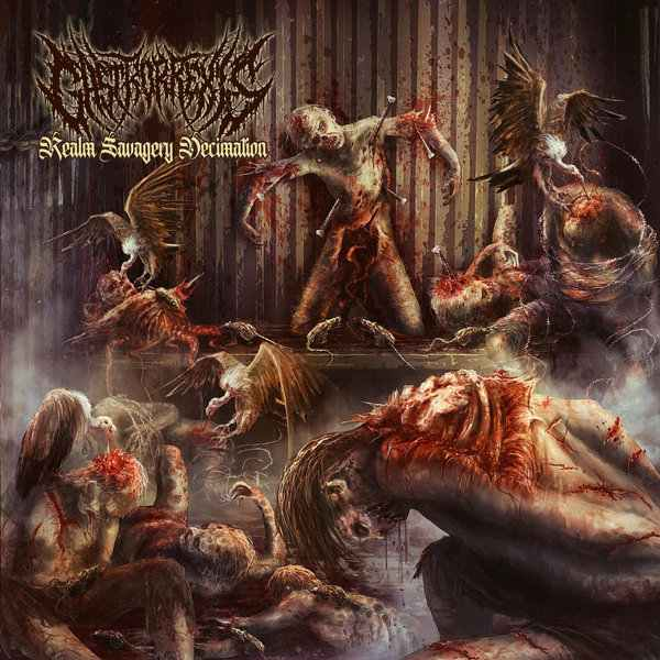 Gastrorrexis- Realm Savagery Decimation CD on Coyote Rec.