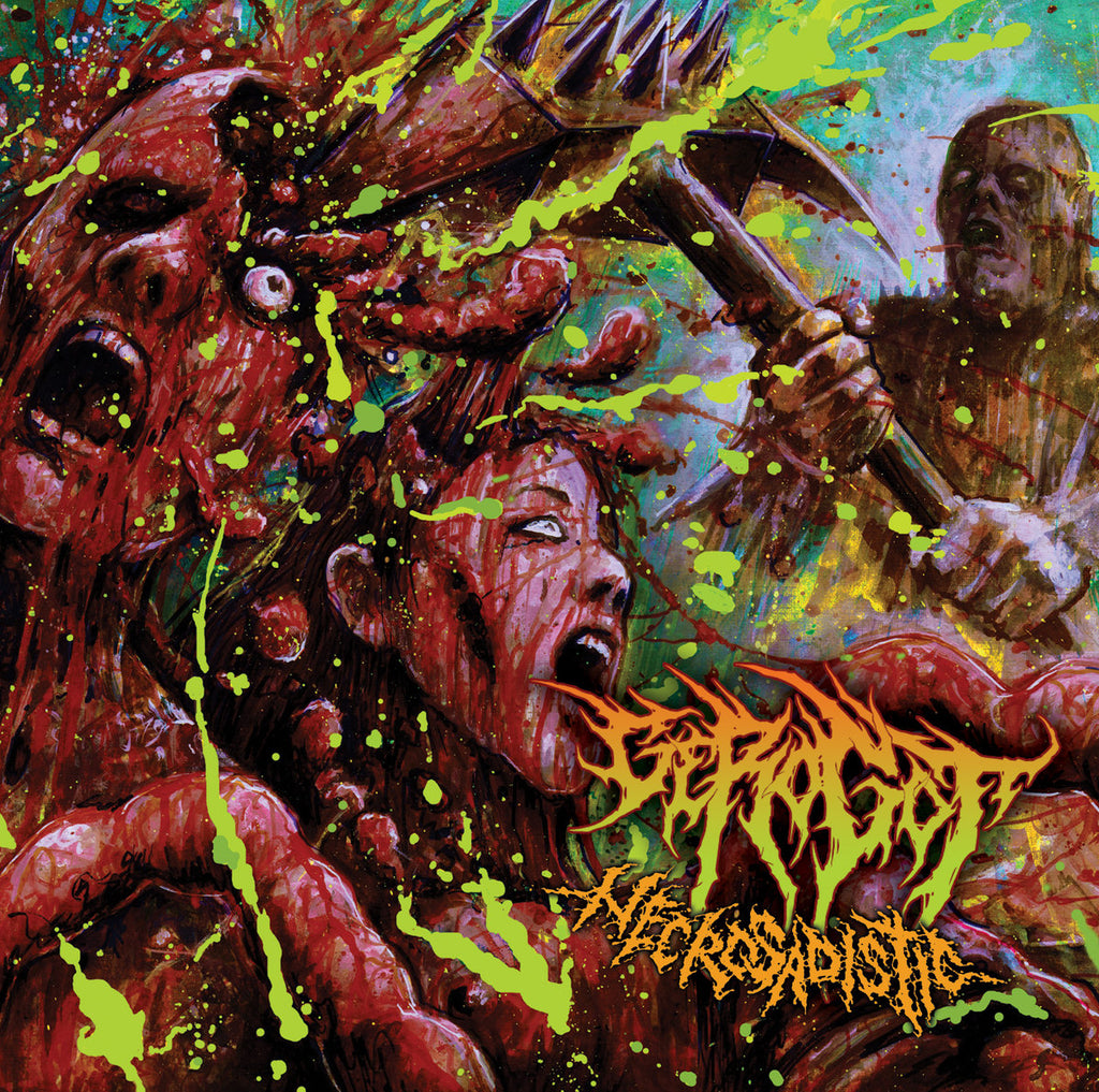 Gerogot- Necrosadistic CD on Brutal Mind
