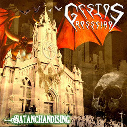 Gestos Grosseiros- Satanchandising CD on Rapture Rec.