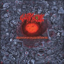 GLORY HOLE- Infestation Of Evilized Deformities CD on United Und
