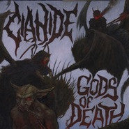 Cianide- Gods Of Death CD on Hells Headbangers
