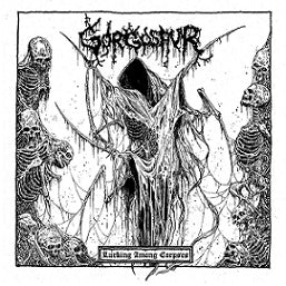 Gorgosaur- Lurking Among Corpses CD on Memento Mori Rec.