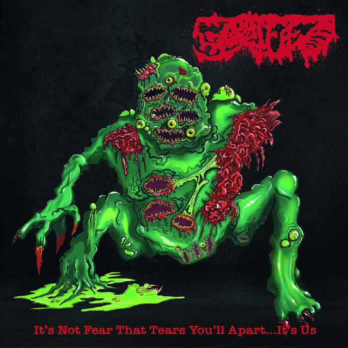 GORIFIED- It's Not Fear That Tears You'll Apart... It's Us Discography CD on Sevared Rec.