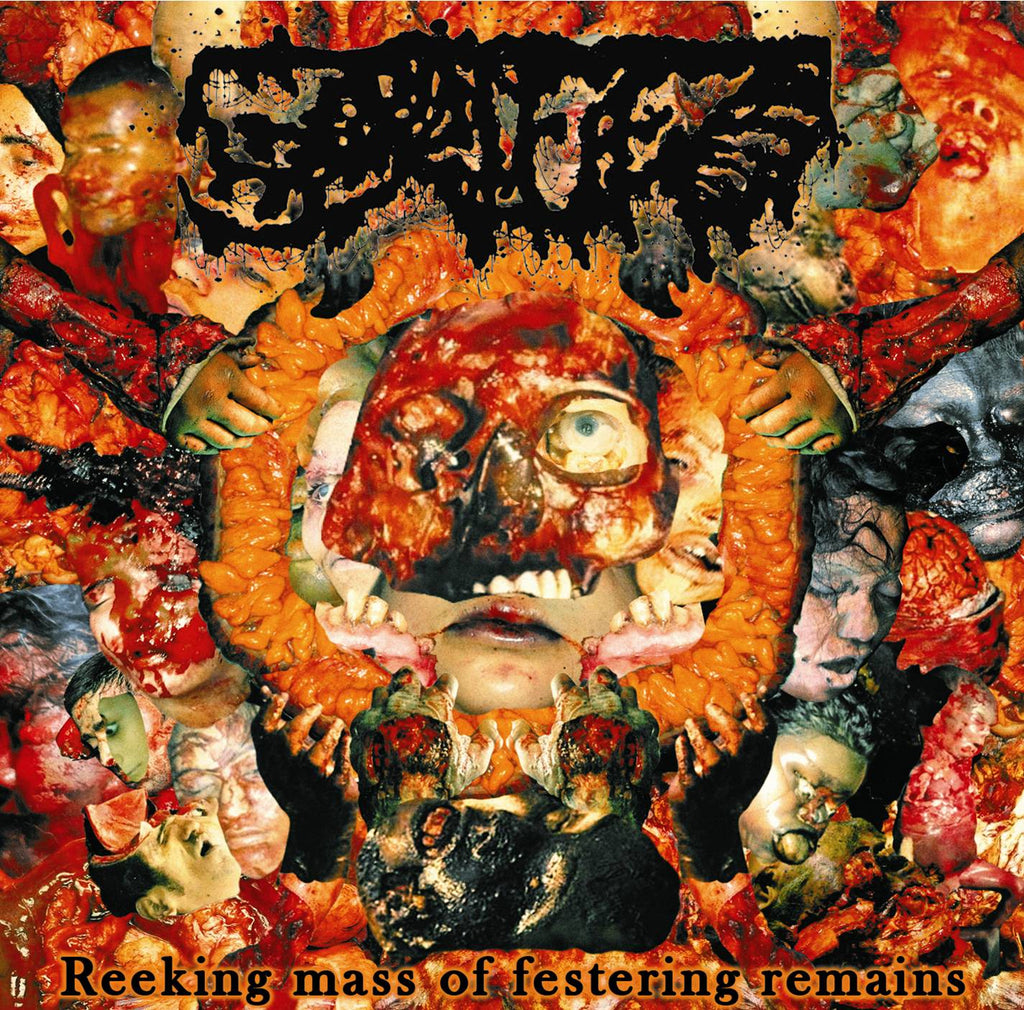 GORIFIED- Reeking Mass Of Festering Remains CD on Sevared Rec. OUT NOW!!!