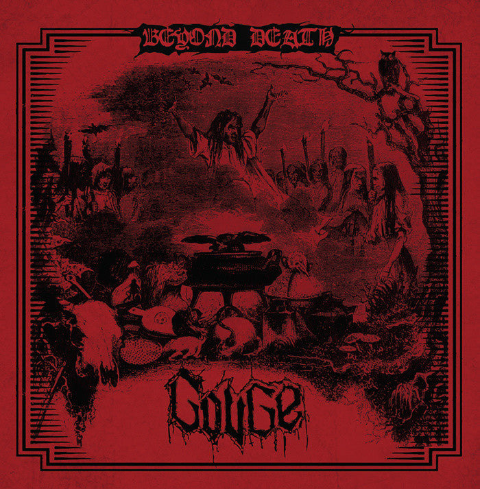 Gouge- Beyond Death CD on Hells Headbangers