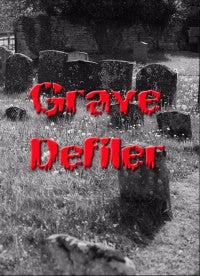 GRAVE DEFILER- S/T HORROR MOVIE DVD