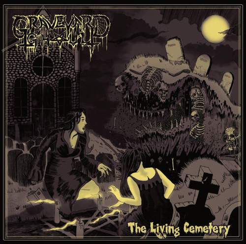Graveyard Ghoul- The Living Cemetery CD on Final Exit Rec.