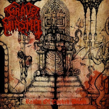 Grave Miasma- Realm Of Evoked Doom CD on Nuclear Winter Rec.