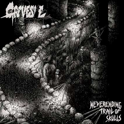 Gravesite- Neverending Trail Of Skulls CD on Xtreem Music