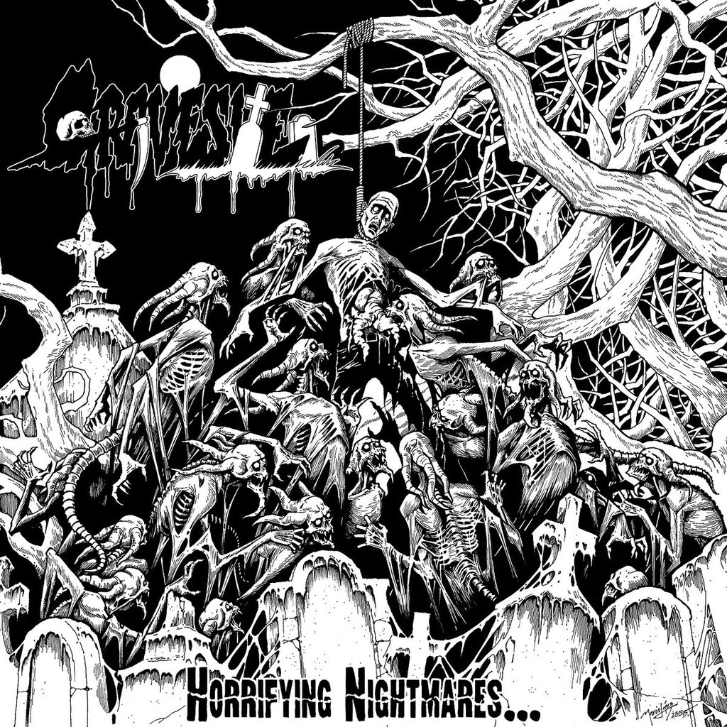 Gravesite- Horrifying Nightmares.. CD on Xtreem Music