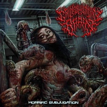 Grilled Human Brain- Horrific Subjugation CD on Putrescence Records