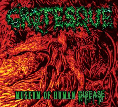 Grotesque- Museum Of Human Disease CD on Prime Cuts Prod.