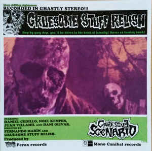 Gruesome Stuff Relish- Grotesque Scenario CD on Meat 5000 Rec.