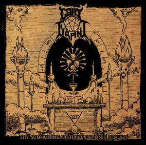 Goat Tyrant- Thy Summoning Of THree Demonic Rituals CD on Hellth
