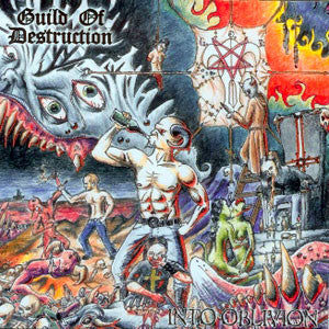 Guild Of Destruction- Into Oblivion CD on Grindhead Records