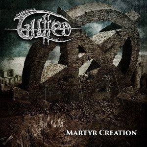 Gutted- Martyr Creation CD on Xtreem Music