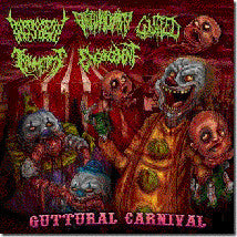 GUTTURAL CARNIVAL- 5 Way Split CD on Morbid Generation
