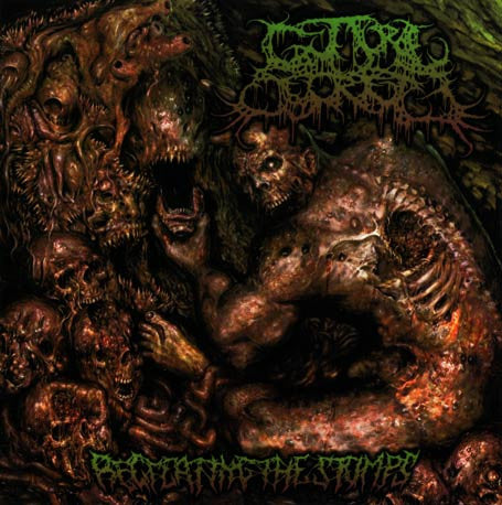 Guttural Secrete- Recreating The Stumps CD Self Released