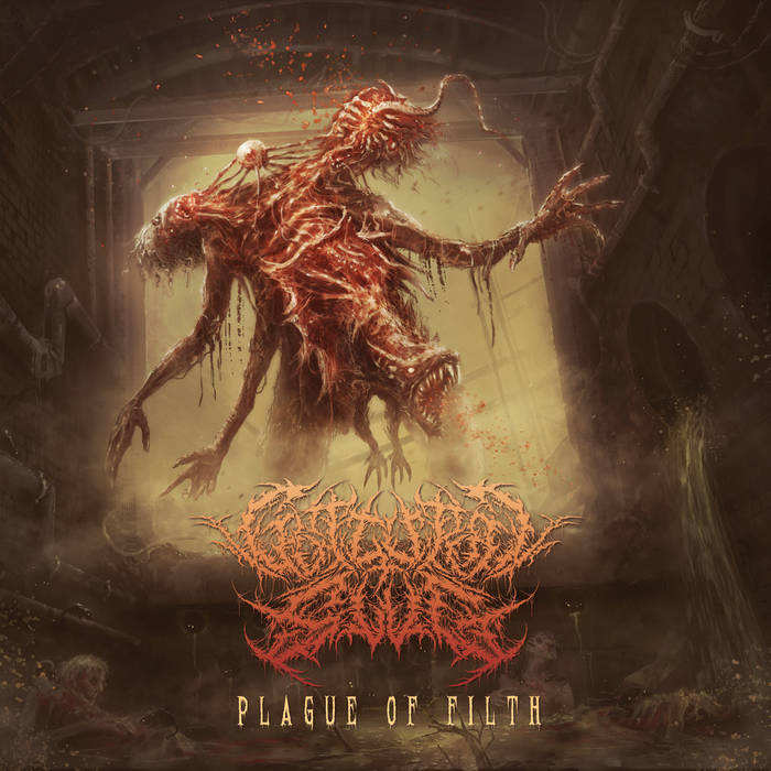 Guttural Slug- Plague Of Filth CD on Brutal Mind