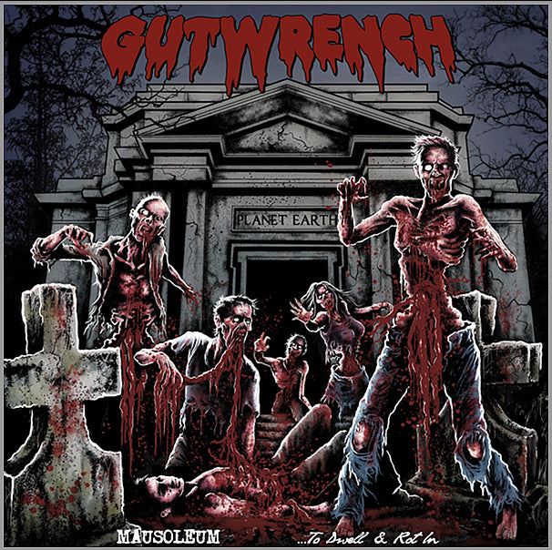Gutwrench- Mausoleum... To Dwell & Rot In CD on Razorback Rec.