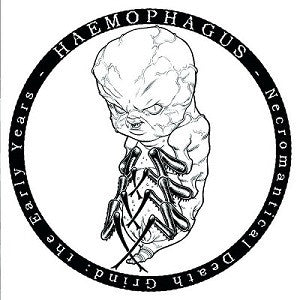 Haemophagus- Necromantical Death Grind: The Early Years CD on Despise The Sun Rec.