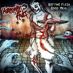 Harmony Fault- Rotting Flesh Good Meal CD on Rotten Foetus