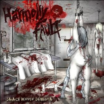 Harmony Fault- Savage Horror Dementia CD on Cianeto Rec.