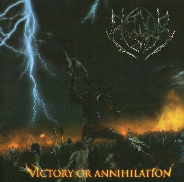 Hedor- Victory Or Annihilation CD on Mutilated Records