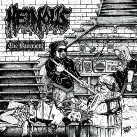 Heinous- The Basement CD on Cianeto Rec.