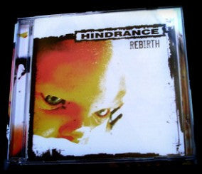 Hindrance- Rebirth CD on Hecatombe Records