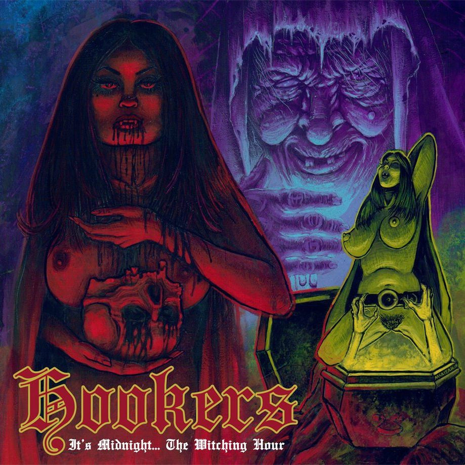 Hookers- It's Midnight... The Witching Hour CD on Razorback Rec.