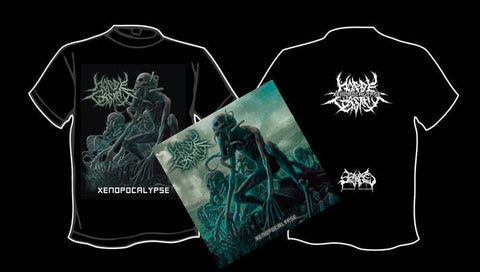 HORDE CASKET- Xenopocalypse CD / T-SHIRT PACKAGE S-XXL OUT NOW!!!