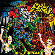 Drunken Bastards- Horns Of The Wasted CD on Hells Headbangers