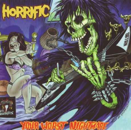 Horrific- Your Worst Nightmare DIGI-CD on Hells Headbangers