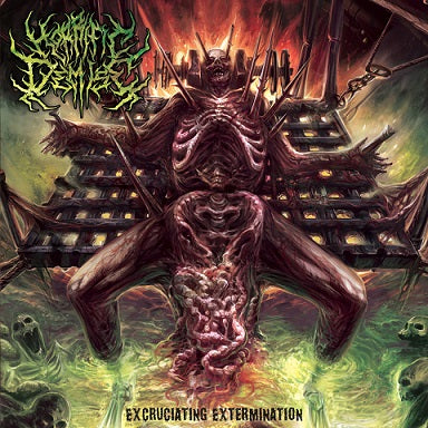 Horrific Demise- Excruciating Extermination CD on Comatose Music