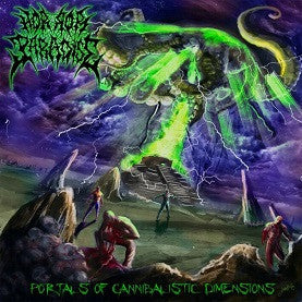 HORROR PARADISE- Portals Of Cannibalistic Dimensions CD on Rotten Cemetery Rec.