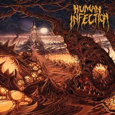 Human Infection- Curvatures In Time CD on Blasthead Rec.