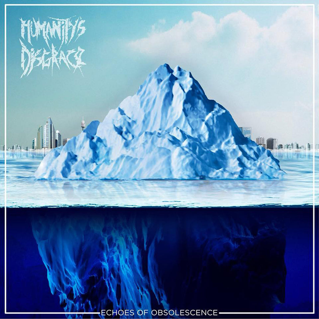 Humanity's Disgrace- Echoes Of Obsolescence CD on PRC Music